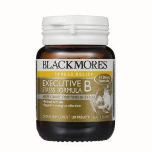 Viên uống Blackmores Executive B Stress Formula 62 viên – Giảm căng thẳng thần kinh, giữ tinh thần thoải mái
