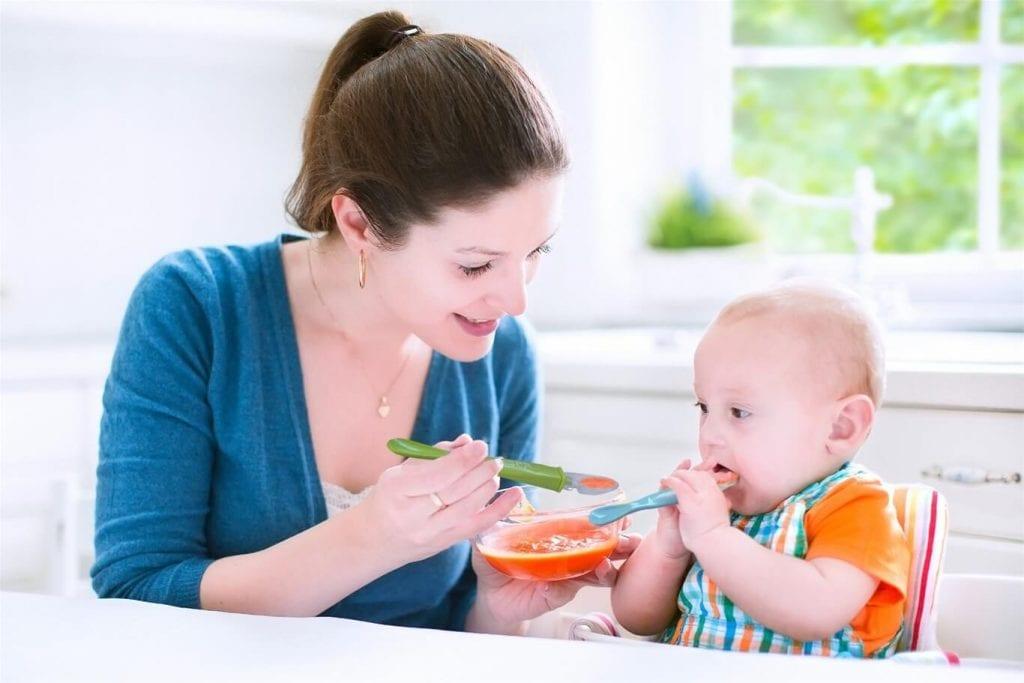 biếng ăn sinh lý ở trẻ 7 tháng tuổi