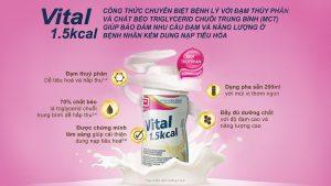 Những câu hỏi thường gặp về sữa vital 1.5 kcal