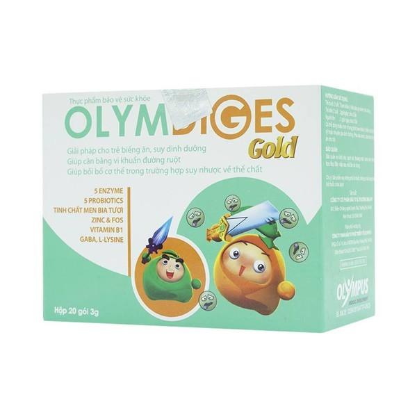 Cốm Olymdiges Gold giải pháp cho trẻ biếng ăn, suy dinh dưỡng