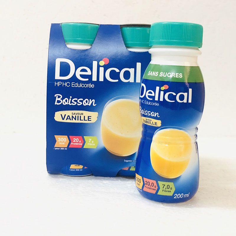 Sữa Delical vị vali thơm ngon, dễ uống