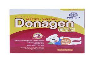 Donagen Gold hộp 20 gói là lựa chọn tối ưu, giải pháp hữu hiệu cho trẻ biếng ăn