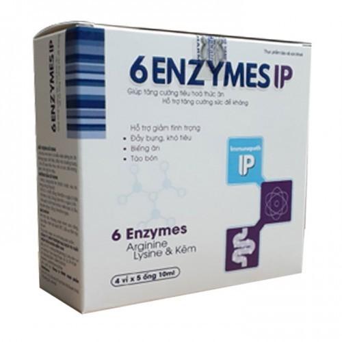 Men tiêu hóa 6 Enzym IPlà trợ thủ đắc lực hỗ trợ trong việc tiêu hóa thức ăn