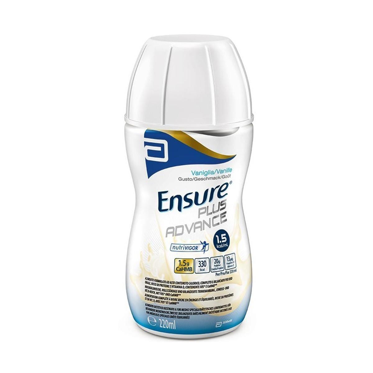 Sữa Ensure Plus Advance - Phù hợp cho bệnh nhân suy dinh dưỡng
