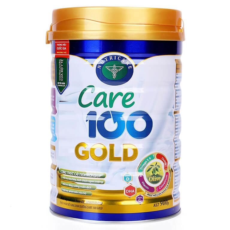 Sữa Care 100 Gold là dòng sữa cao năng lượng đã được chứng minh lâm sàng hiệu quả