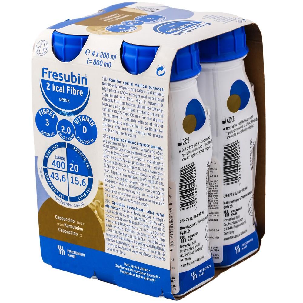 Sữa Fresubin 2Kcal Fibre là dòng sữa được nhập khẩu nguyên chai từ Đức