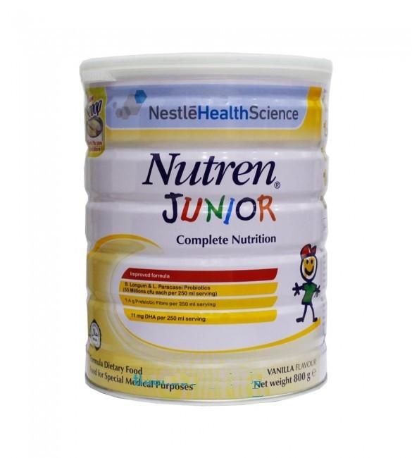 Sữa Nutren Junior là dòng sữa cao năng lượng được nhập khẩu từ Thụy Sĩ