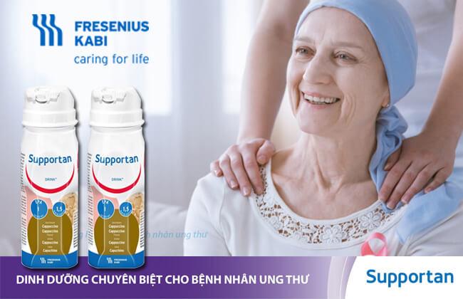 Sữa supportan dinh dưỡng đặc chế cho người ung thư