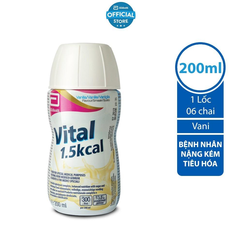 Sữa Vital_dinh dưỡng cho người có hệ tiêu hóa kém hấp thu