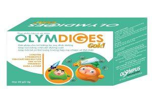Olymdiges Gold (Hộp 20 gói) giúp hỗ trợ tiêu hóa và miễn dịch cho trẻ em có được Bác sĩ khuyên dùng?