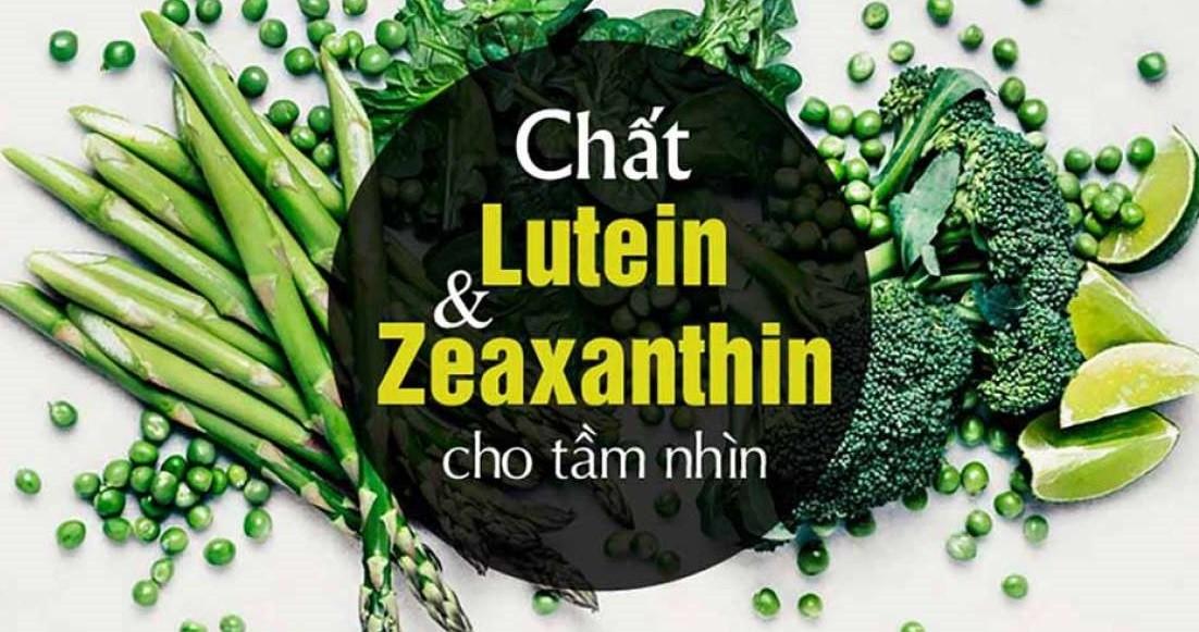 Lutein là một chất chống oxy hóa mạnh thuộc nhóm carotenoid