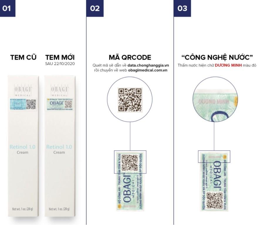 Kem điều trị mụn, lão hóa da Tretinoin Cream 0,025% 20g
