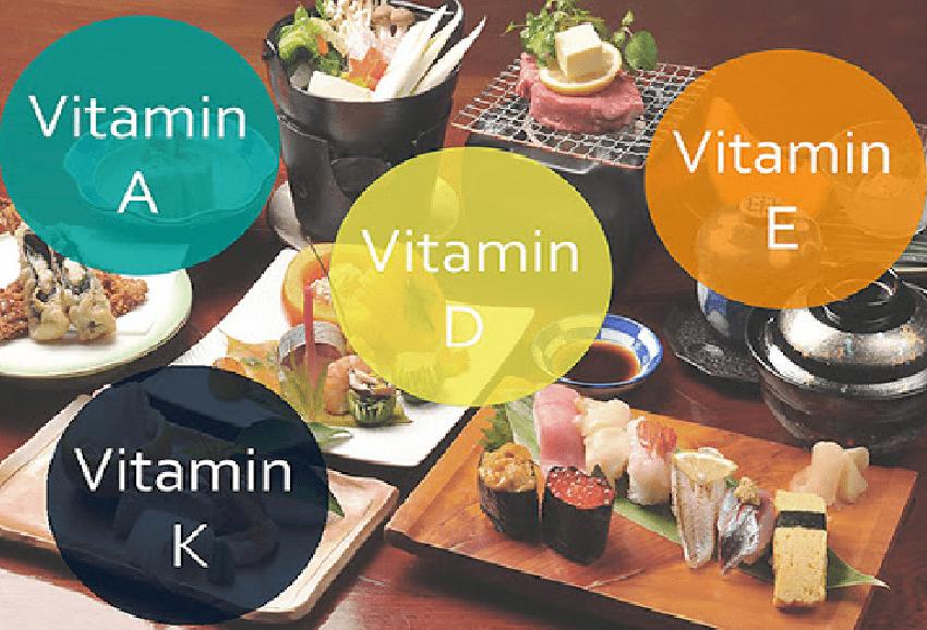 Các loại vitamin tan trong dầu