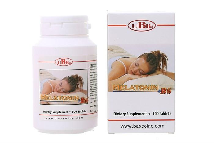 Viên uống Melatonin + B6 - Giải pháp hiệu quả cho người mất ngủ, rối loạn giấc ngủ