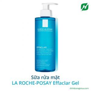 La Roche-Posay Effaclar Gel Moussant Purifiant 400ml – Sữa rửa mặt dành cho da dầu mụn