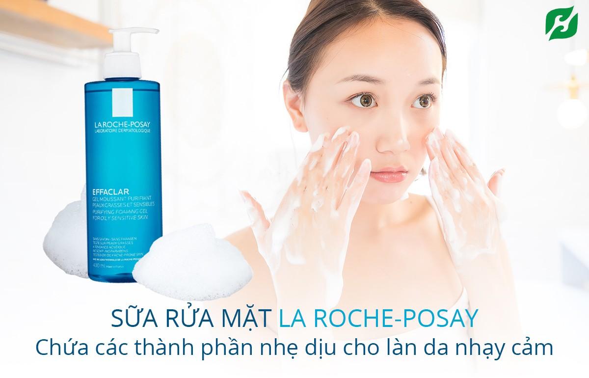 La Roche-Posay Effaclar Gel Moussant Purifiant 400ml - Sữa rửa mặt dành cho da dầu mụn