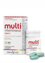Viên uống MULTIVITAMINERAL ADULTI tăng cường miễn dịch cho cơ thể