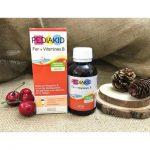 PEDIAKID FER +VITAMIN B bổ sung sắt và các vitamin nhóm B cho trẻ em, phụ nữ sau sinh