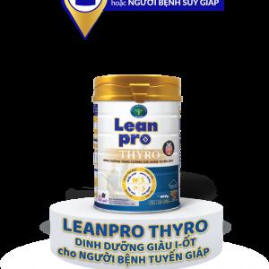 Sữa Lean Pro Thyro Lid - Giải pháp tối ưu cho người kiêng I-ốt, bệnh tuyến giáp