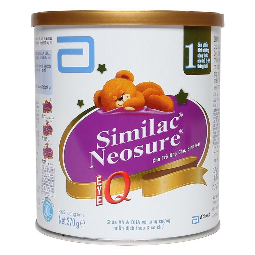 Sữa Similac Neosure – Dinh dưỡng cho trẻ sinh non, thiếu tháng, suy dinh dưỡng