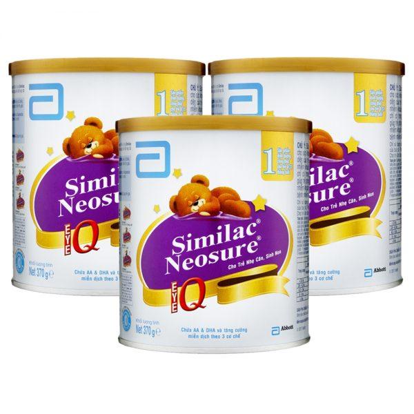 Sữa Similac Neosure IQ dành cho trẻ sơ sinh, nhẹ cân, suy dinh dưỡng