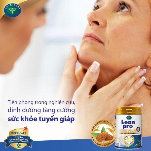 Sữa Lean Pro Thyro - Điều hòa hoạt động hormone tuyến giáp