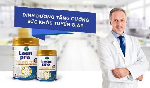 Sữa Lean Pro Thyro - Kiểm soát cân nặng, giảm mệt mỏi cho người suy giáp