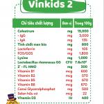 Sữa non Vinkids số 2 Pedia – Tăng cân an toàn, khoẻ mạnh