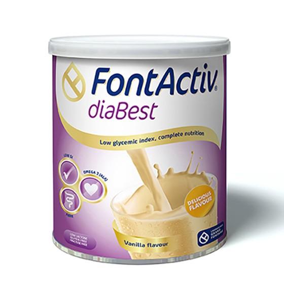 Sữa fontactiv diabest giải pháp dinh dưỡng cho người tiểu đường