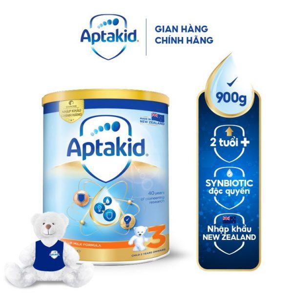 Sữa Aptakid số 3 – Dinh dưỡng ưu việt giúp trẻ khỏe mạnh, phát triển toàn diện