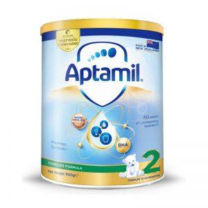 Sữa Aptamil New Zealand số 2 – Sữa đặc biệt phù hợp cho trẻ sinh mổ và tăng cường hệ tiêu hóa từ 12 – 24 tháng