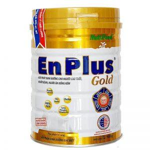 Sữa EnPlus Gold 900g – Giải pháp dinh dưỡng cho người cao tuổi, người bệnh, người ăn uống kém