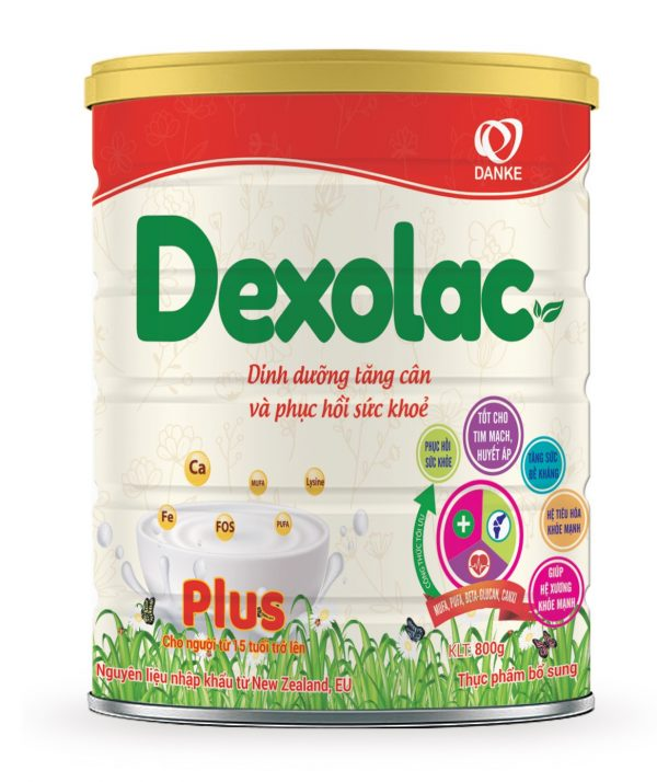 Sữa Dexolac Plus - Tăng cường sức khoẻ