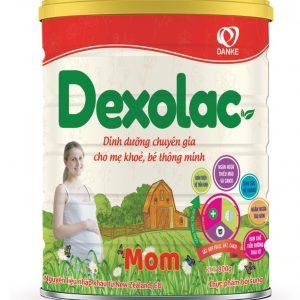 Sữa Dexolac Mom – Đồng hành cùng mẹ trong thai kỳ
