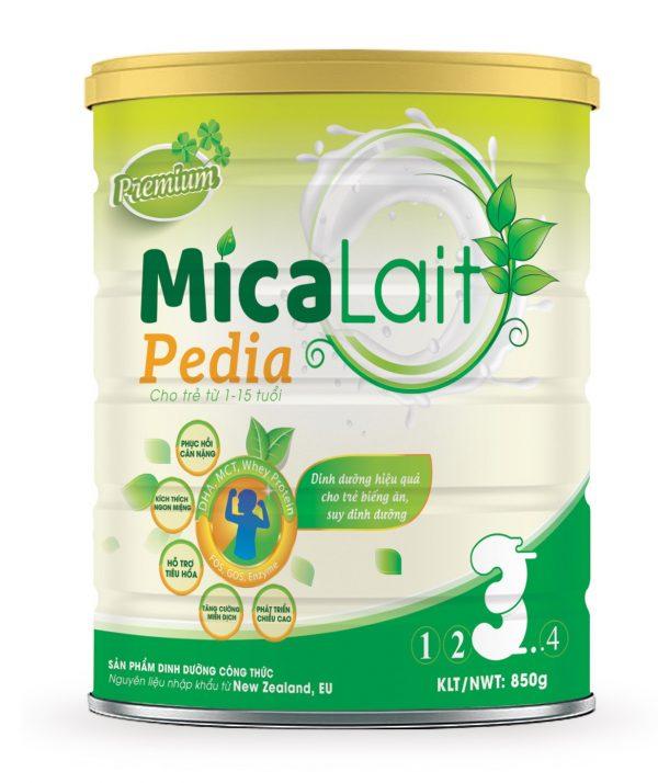 Sữa Micalait Pedia - Dành cho bé biếng ăn