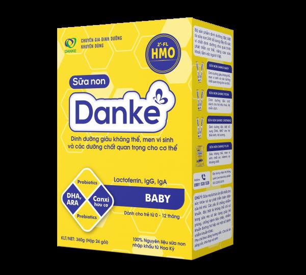 Sữa non Danke Baby - Tiêu hoá tốt, miễn dịch khoẻ