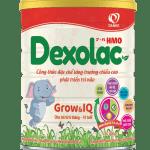 Sữa Dexolac Grow & IQ – Tối ưu chiều cao, trí não
