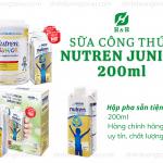 Sữa Nutren Junior 200ml – Top 3 Sữa Cho Trẻ Suy Dinh Dưỡng Tốt Nhất