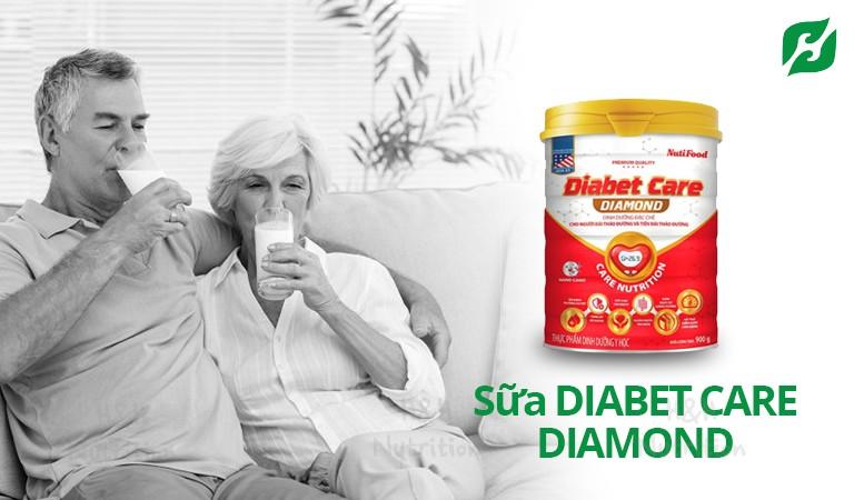 Sữa dành cho người đái tháo đường tuýp 2 DIABET CARE DIAMOND tốt cho tim mạch