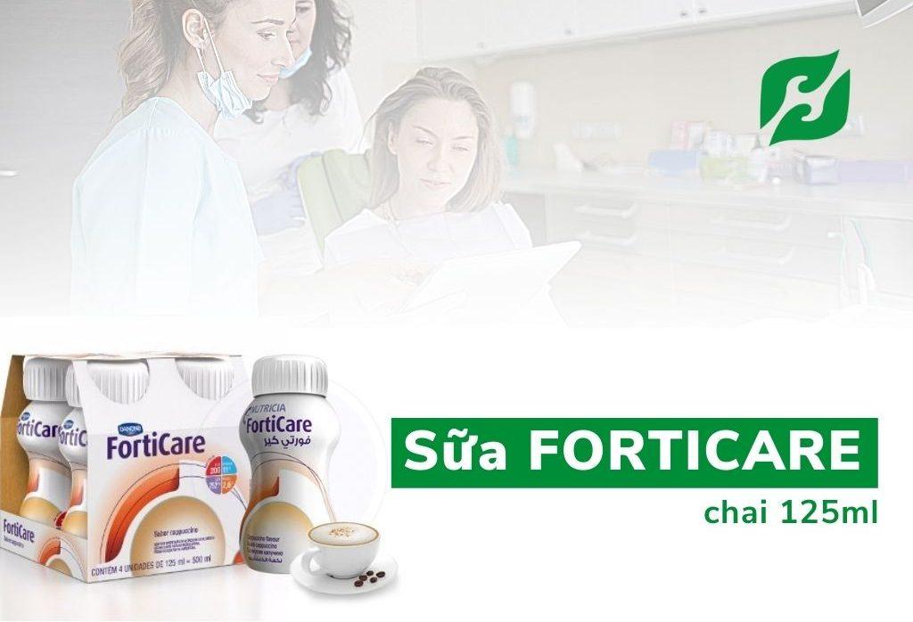 Sữa FortiCare được bác sĩ khuyên dùng, sản phẩm dành cho những người ung thư bị sút cân.