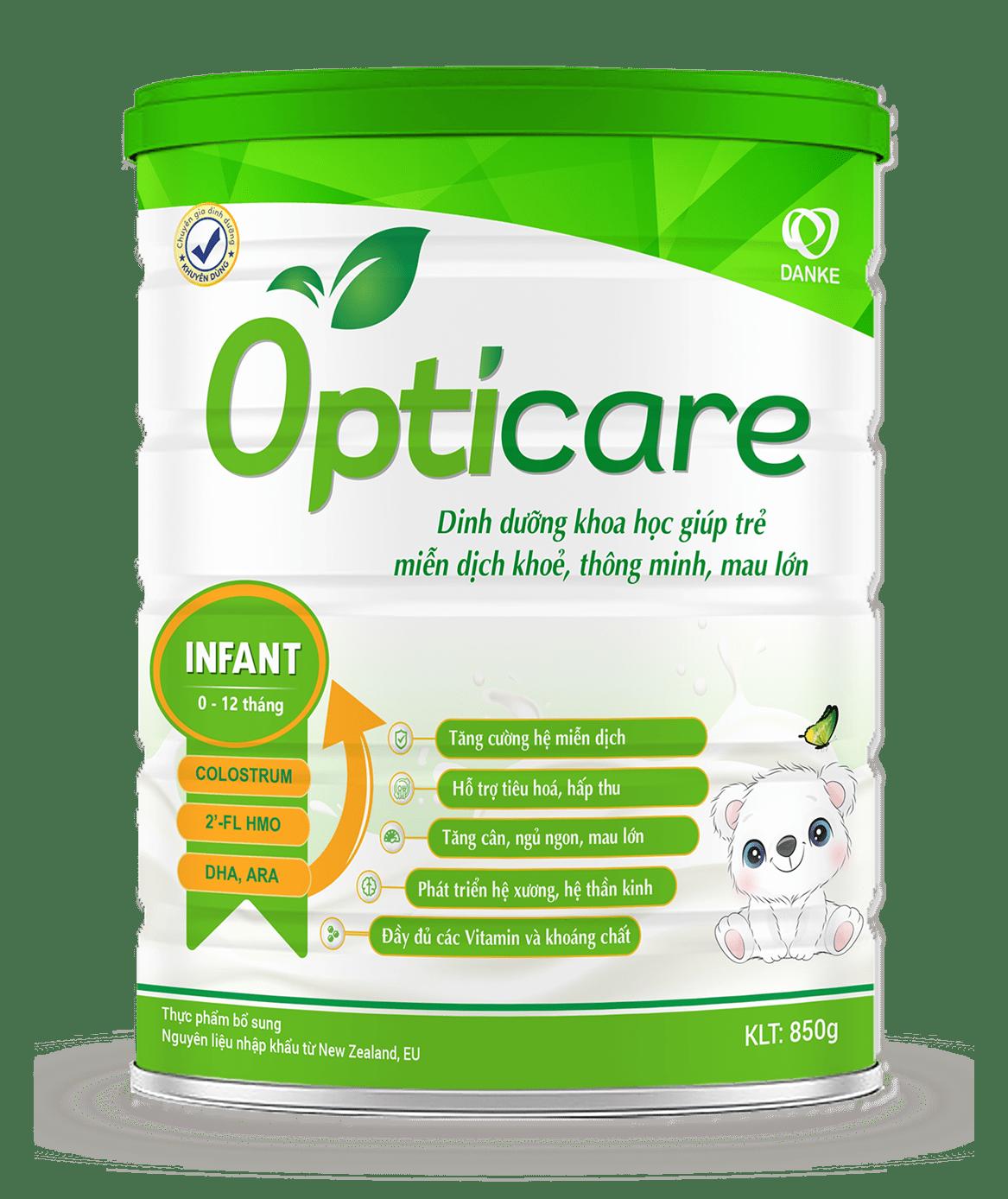Sữa Opticare Infant