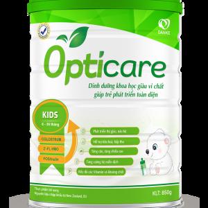Sữa Opticare Grow & IQ – Cao hơn, thông minh hơn