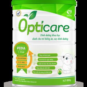 Sữa Opticare Pedia – Tiêu hoá khoẻ mạnh, tăng cân đều