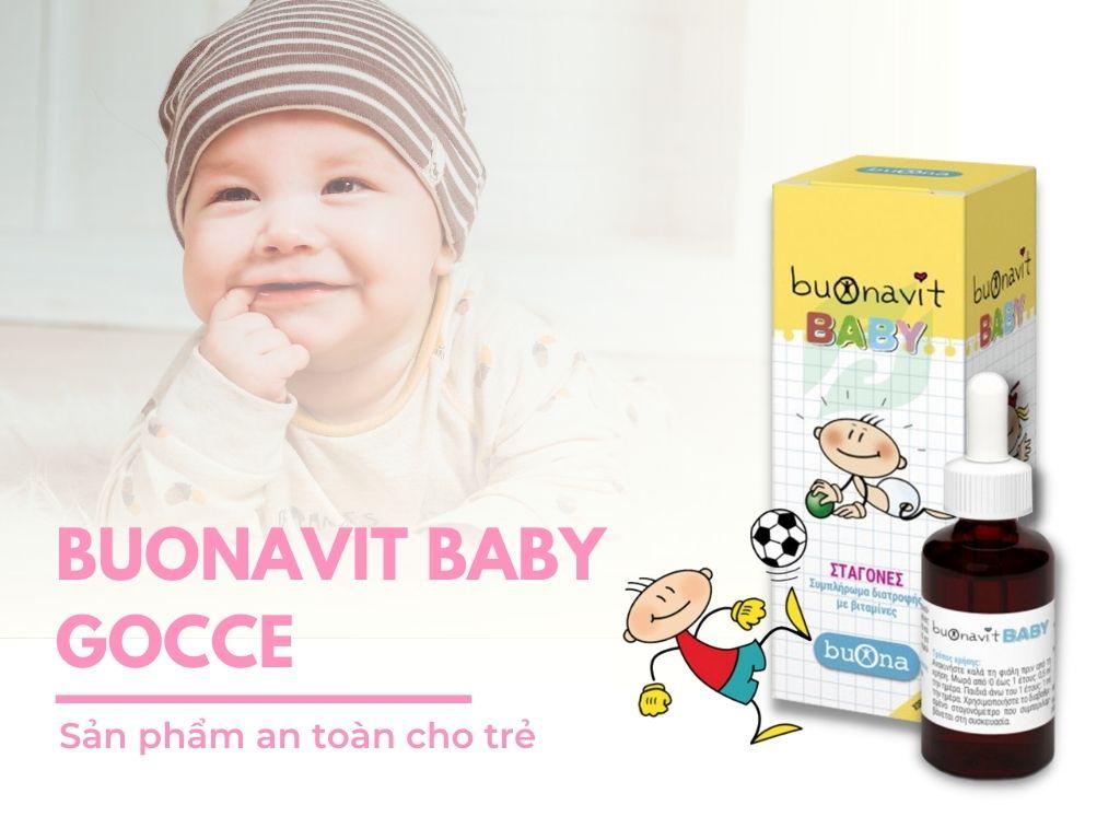 Buonavit Baby 20ml - Bổ sung dưỡng chất cho trẻ biếng ăn, chậm tăng cân