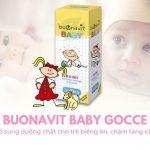 Buonavit Baby 20ml – Bổ sung dưỡng chất cho trẻ biếng ăn, chậm tăng cân