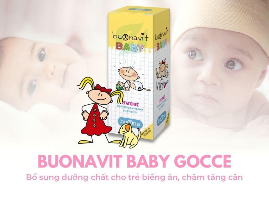 Sản phẩm Buonavit Baby chính hãng