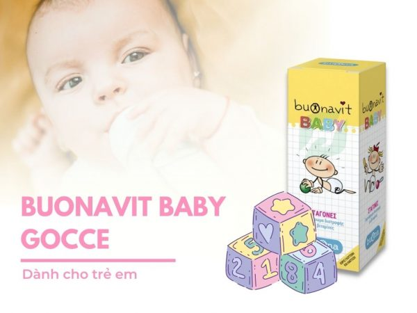 Sản phẩm Buonavit Baby Gocce 20ml cho trẻ em