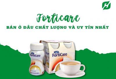 Sữa Forticare bán ở đâu? Top sữa đặc trị bệnh ung thư tốt nhất hiện nay
