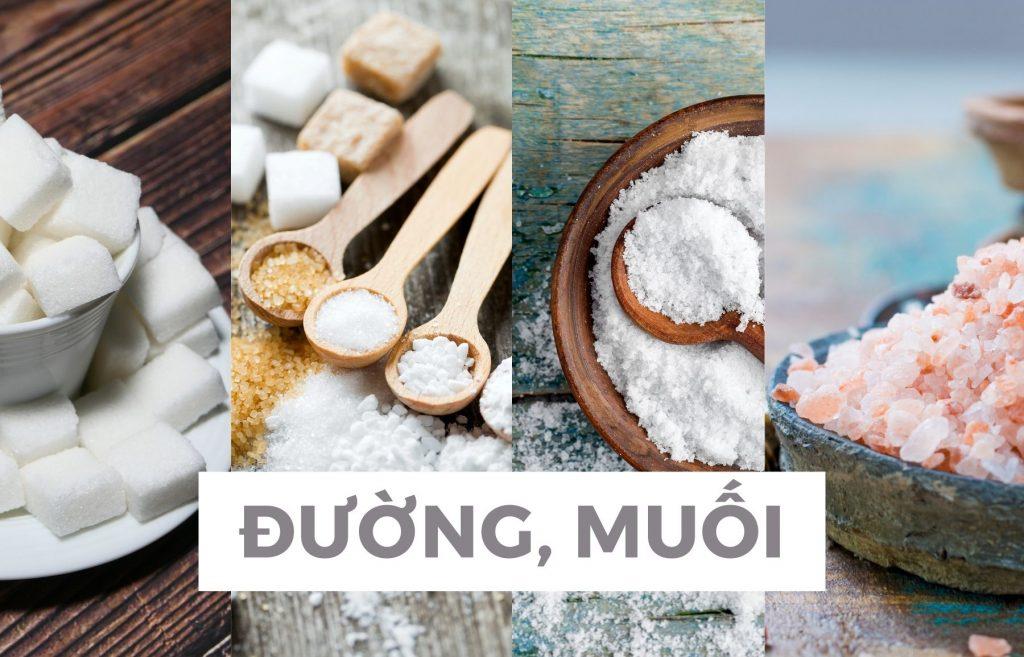 Thiết kế thực đơn dinh dưỡng hạn chế muối và đường
