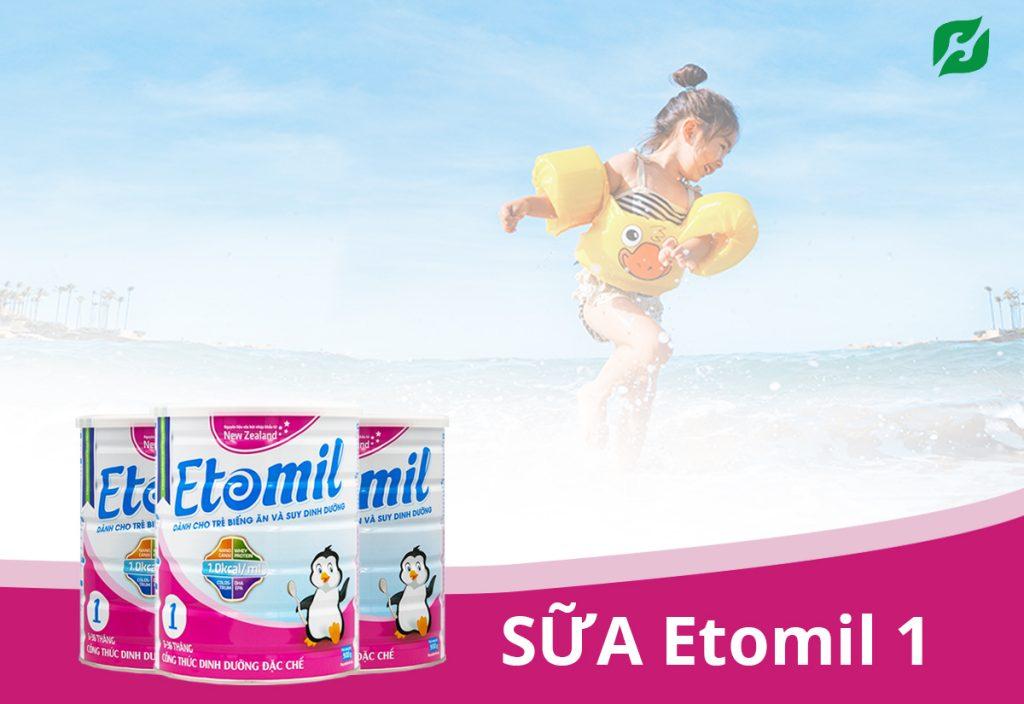 Etomil 1 – sữa cao năng lượng cung cấp các dưỡng chất cần thiết, đặc biệt có thêm colostrum nâng cao hệ miễn dịch, bổ sung canxi phát triển chiều cao vượt trội